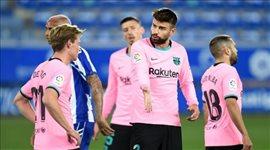 """""""لا مكان لبرشلونة في المركز الثاني والثالث"""".. بيكيه يطمئن جماهير كتالونيا"""