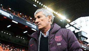 سيتين ينقذ مستقبل نجم برشلونة.. ويعارض رحيله بقوة