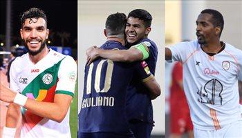 نجم النصر ينافس ثنائي الشباب والاتفاق على هدف الجولة 19