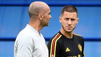 مدرب بلجيكا يبث بشرى لجماهير ريال مدريد بخصوص هازارد