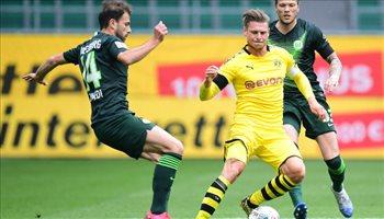 دورتموند يواصل انتصاراته في الدوري الألماني.. وصيام هالاند أخيرا