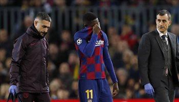 """برشلونة يحدد مستقبل ديمبيلي.. """"البقاء أم الرحيل"""""""