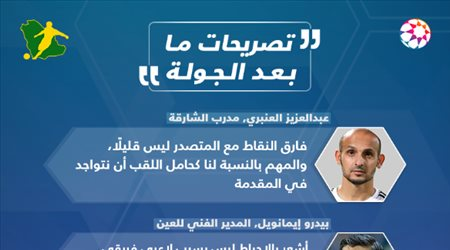 دوري الخليج العربي| الاعتراض على القرارات التحكيمية أبرز تصريحات الجولة 19