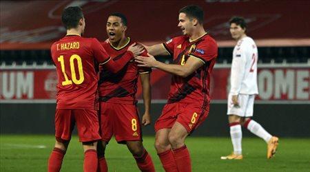 """بلجيكا بـ""""البدلاء"""" أمام بيلاروسيا.. وغياب حارس ريال مدريد"""