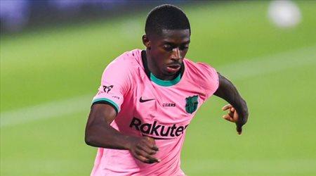 ديمبيلي يقترب من العودة للمشاركة مع برشلونة