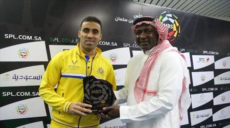 """حمد الله يستعد لـ""""رقم مغربي وإفريقي"""" لأول مرة في الدوري السعودي"""
