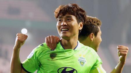 المخضرم غوك صاحب أول أهداف دوري كوريا الجنوبية