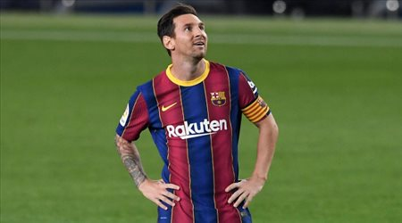 """مفاجأة.. لابورتا يعلن مصير """"ميسي"""" النهائي داخل برشلونة"""
