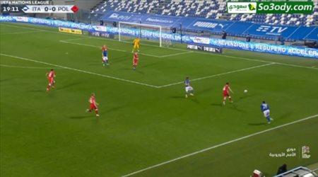 أهداف مباراة .. إيطاليا 2 - 0 بولندا .. دوري الأمم الأوروبية