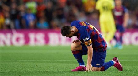 رغم تكذيب برشلونة.. ميسي يواصل الغياب عن التدريبات
