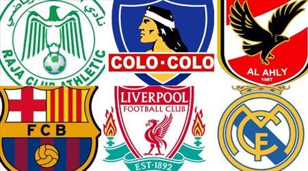 """الأندية العربية تكتسح """"أفضل شعار في العالم"""".. ومفاجأة في مركز برشلونة"""