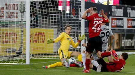 """هافيرتز يسقط فرايبورج ويقود بايرليفركوزن لـ""""ثالث"""" الدوري الألماني"""