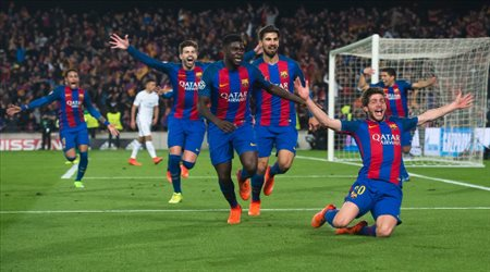 برشلونة يصدم إنتر ميلان.. حالة واحدة للتخلى عن صخرة الدفاع