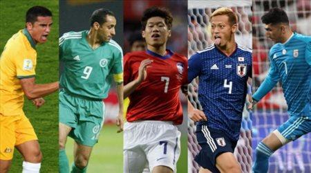 """الجابر ينافس 4 نجوم على لقب """"أفضل آسيوي في تاريخ كأس العالم"""""""