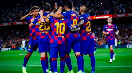 صراع جديد بين برشلونة ومانشستر سيتي.. بديل اومتيتي وهدف جوارديولا