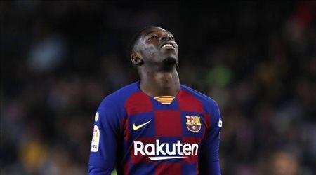 """""""هل يشارك ديمبيلي في مواجهة الكلاسيكو؟"""".. مدرب برشلونة يجيب"""