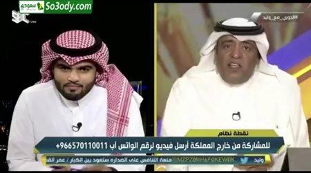 وليد الفراج يرد سريعا علي ضيفه بعدما ذكر مفاوضات الاتحاد مع احمد حجازي