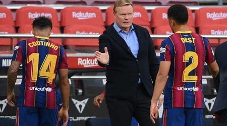"""كومان يتفق مع هدف برشلونة القديم.. """"صفقة مجانية"""""""