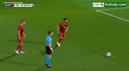 أهداف مباراة .. بلجيكا 2 - 0 إنجلترا .. دوري الأمم الأوروبية