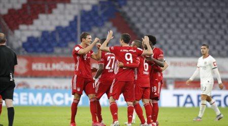 الطريق نحو الثنائية.. بايرن ميونيخ يطيح بفرانكفورت ويتأهل إلى نهائي كأس ألمانيا