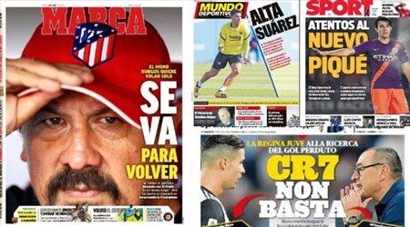 صحف العالم ليوم الخميس.. بيكيه الجديد إلى برشلونة وأزمة المشجعين في الدوري الإنجليزي