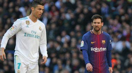 """الأكثر شعبية في الصين.. """"رونالدو يتفوق على ميسي وبرشلونة يتجاوز ريال مدريد"""""""
