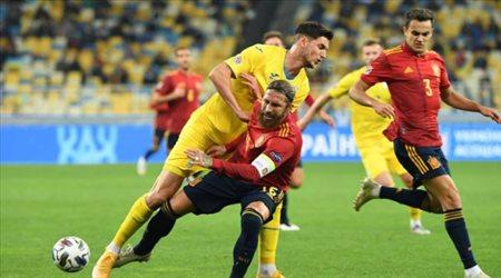 أوكرانيا تذل إسبانيا.. وألمانيا تخطف التعادل الصعب من سويسرا