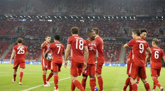 بايرن ميونيخ من مباراة إشبيلية - السوبر الأوروبي
