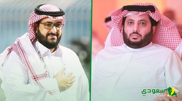سعود آل سويلم وتركي آل الشيخ