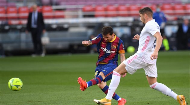 ميسي من مباراة ريال مدردي وبرشلونة