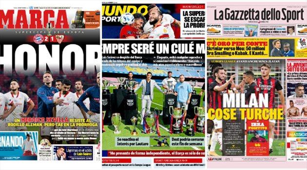 صحف العالم اليوم