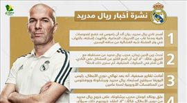 """أخبار ريال مدريد اليوم  زيدان يحسم مستقبله وعقوبة أوروبية منتظرة """"وداعا دوري الأبطال"""""""