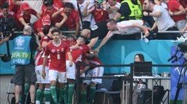 عيون اليورو  رونالدو يجتمع بصديقه في ريال مدريد ونجم المجر يتسبب في ذعر الجماهير