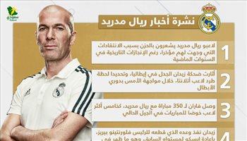 نشرة أخبار ريال مدريد| ضحكة زيدان تشعل إيطاليا والفرنسي ينفذ وعده لبيريز