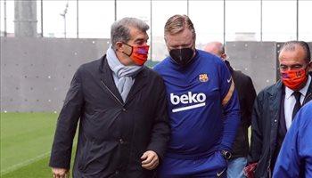 """برشلونة يقرر إقالة """"الفاشل"""" كومان من منصب المدير الفني.. """"رأيك مرفوض"""""""