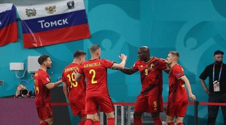 بلجيكا تحطم روسيا بثلاثية في يورو 2020 بمشاركة هازارد