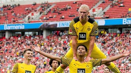 """""""الحمد لله"""".. دورتموند وهالاند يعلقان على قنص ليفركوزن في الدوري الألماني"""