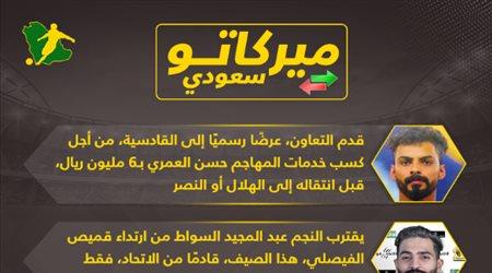 أخبار الميركاتو  مفاجأة هلالية وصدمة في النصر.. وحقيقة انتقال نجم الأهلي إلى الاتحاد
