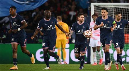 ميسي يقود باريس سان جيرمان لضرب لايبزيج بثلاثية في دوري أبطال أوروبا