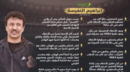 """""""الهلال يرعب الحكام ويسحب شارتهم الدولية والنصر الأكثر تضررا"""".. تصريحات مثيرة من النفيسة"""