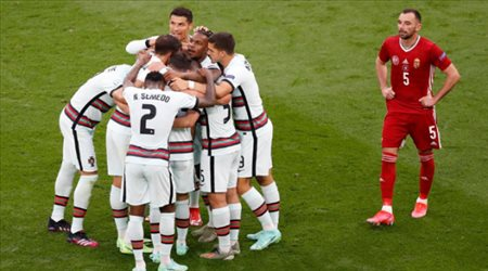 رونالد يقود هجوم البرتغال أمام ألمانيا في يورو 2020