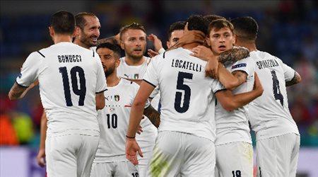 """ثلاثية قاتلة.. إيطاليا تحتفل بـ""""افتتاح يورو 2020"""" أمام تركيا"""