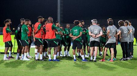 تدريبات الأخضر السعودي.. تعرف على نتيجة فحوصات كورونا