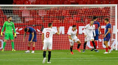 إشبيلية يشعل الصراع على لقب الليجا بانتصار ملحمي على أتلتيكو مدريد
