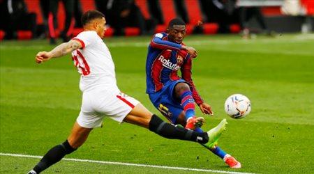 """كومان: """"هذا موعد مشاركة عثمان ديمبلي مع برشلونة"""""""