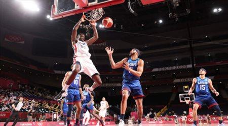 أولمبياد طوكيو| مفاجأة.. فرنسا تذيق سلة أمريكا الخسارة الأولى منذ أثينا 2004