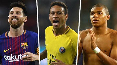 مفاجأة.. مبابي في ريال مدريد ونيمار ينقل ميسي إلى باريس سان جيرمان