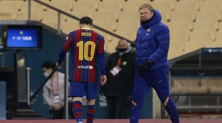 """برشلونة يحتج رسميا.. ويتحرك لـ""""تخفيف عقوبة إيقاف ميسي القاسية"""""""