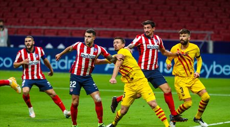 """""""برشلونة ضد أتلتيكو مدريد"""".. تعرف على موعد مباراة حسم الدوري الإسباني"""