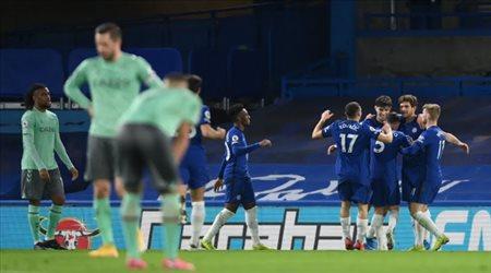 تشيلسي يواصل الانتصارات ويهزم إيفرتون بثنائية في الدوري الإنجليزي